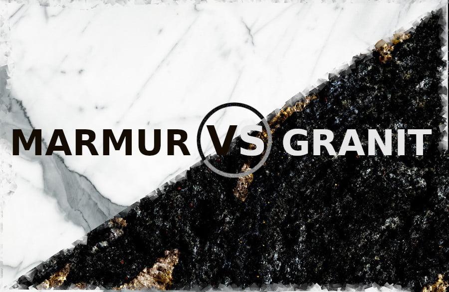 Jaka jest różnica między marmurem a granitem ?